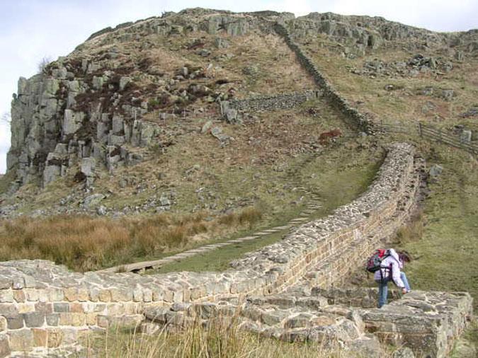 muro de adriano: